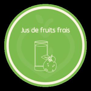 Vertu Food - Jus de fruit frais